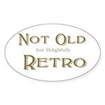Not Old Sticker (Oval 10 pk)