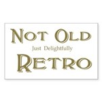 Not Old Sticker (Rectangle)
