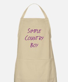 Simple Country Boy Apron