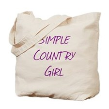 Simple Country Girl Tote Bag