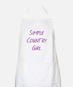 Simple Country Girl Apron