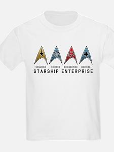 Starfleet Emblems T-Shirt
