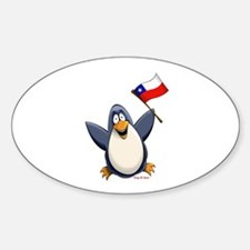 Chile Penguin Bumper Stickers