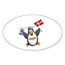 Denmark Penguin Decal