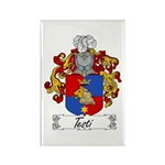 Testi Coat of Arms Rectangle Magnet