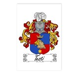 Testi Coat of Arms Postcards (Package of 8)