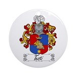 Testi Coat of Arms Ornament (Round)