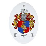 Testi Coat of Arms Oval Ornament