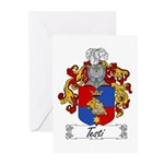 Testi Coat of Arms Greeting Cards (Pk of 10)