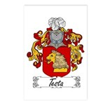 Testa Family Crest Postcards (Package of 8)