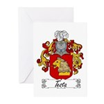 Testa Family Crest Greeting Cards (Pk of 10)