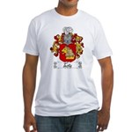 Testa Family Crest Fitted T-Shirt