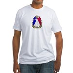 Acadian Shield Fitted T-Shirt