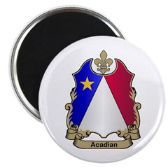 Acadian Shield Magnet
