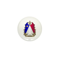 Acadian Shield Mini Button (10 pack)