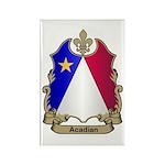 Acadian Shield Rectangle Magnet