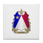 Acadian Shield Tile Coaster