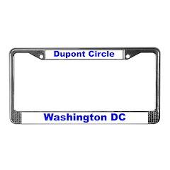 Dupont Circle License Plate Frame