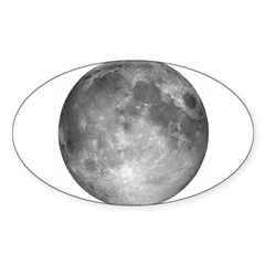 Square Moon Background2 Decal