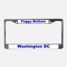 Foggy Bottom License Plate Frame