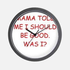women's joke Wall Clock