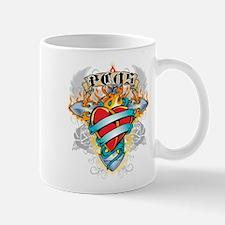PCOS Cross & Heart Mug