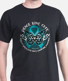 PCOS Tribal Butterfly T-Shirt