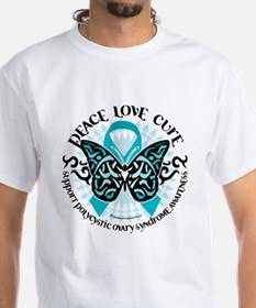 PCOS Tribal Butterfly Shirt
