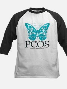 PCOS Butterfly Kids Baseball Jersey