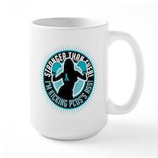 PCOS Boxing Girl Mug