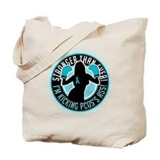PCOS Boxing Girl Tote Bag