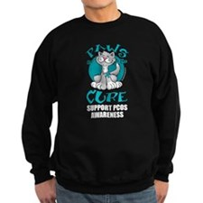PCOS Paws for the Cure Sweatshirt