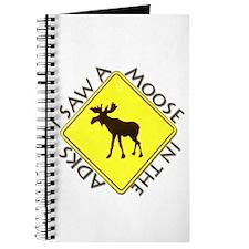 I saw a Moose in the Adironda Journal