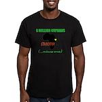 GREEN Men's Fitted T-Shirt (dark)