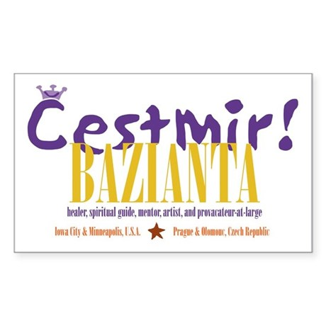 Cestmir Bazianta Sticker with Residences
