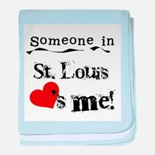 St. Louis Loves Me Infant Blanket