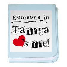 Tampa Loves Me Infant Blanket