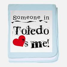 Toledo Loves Me Infant Blanket