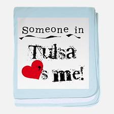 Tulsa Loves Me Infant Blanket