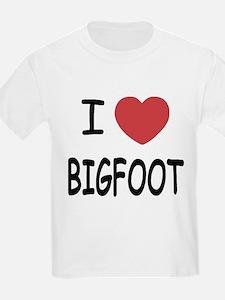 I heart bigfoot T-Shirt