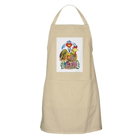 Chicken in Nest with Eggs Apron
