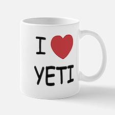 I heart yeti Mug