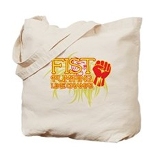 Fist Pumping Like Champs Tote Bag