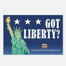 Got Liberty Postcards (Package of 8)