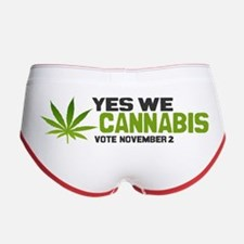 Cannabis Women's Boy Brief