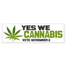Cannabis Bumper Sticker