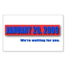 January 20th Rectangle Decal