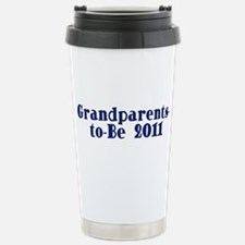 Grandparents-to-Be 2011 Stainless Steel Travel Mug
