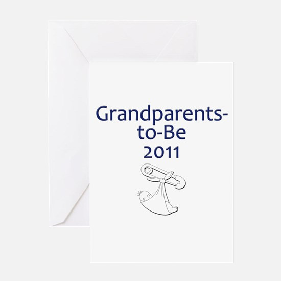 Grandparents-to-Be 2011 Greeting Card