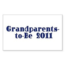Grandparents-to-Be 2011 Decal